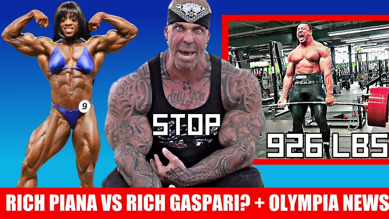 Who is RUINING Rich Piana's Channel? + Iris Kyle Returns + Larry Wheels 420kg Deadlift + MORE