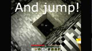 Minecraft Tutorial - How to get into the Void on Survival!