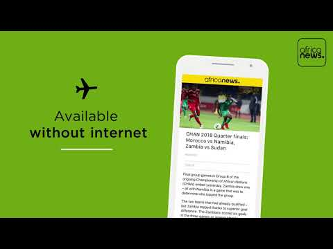 Africanews - Apps presentation