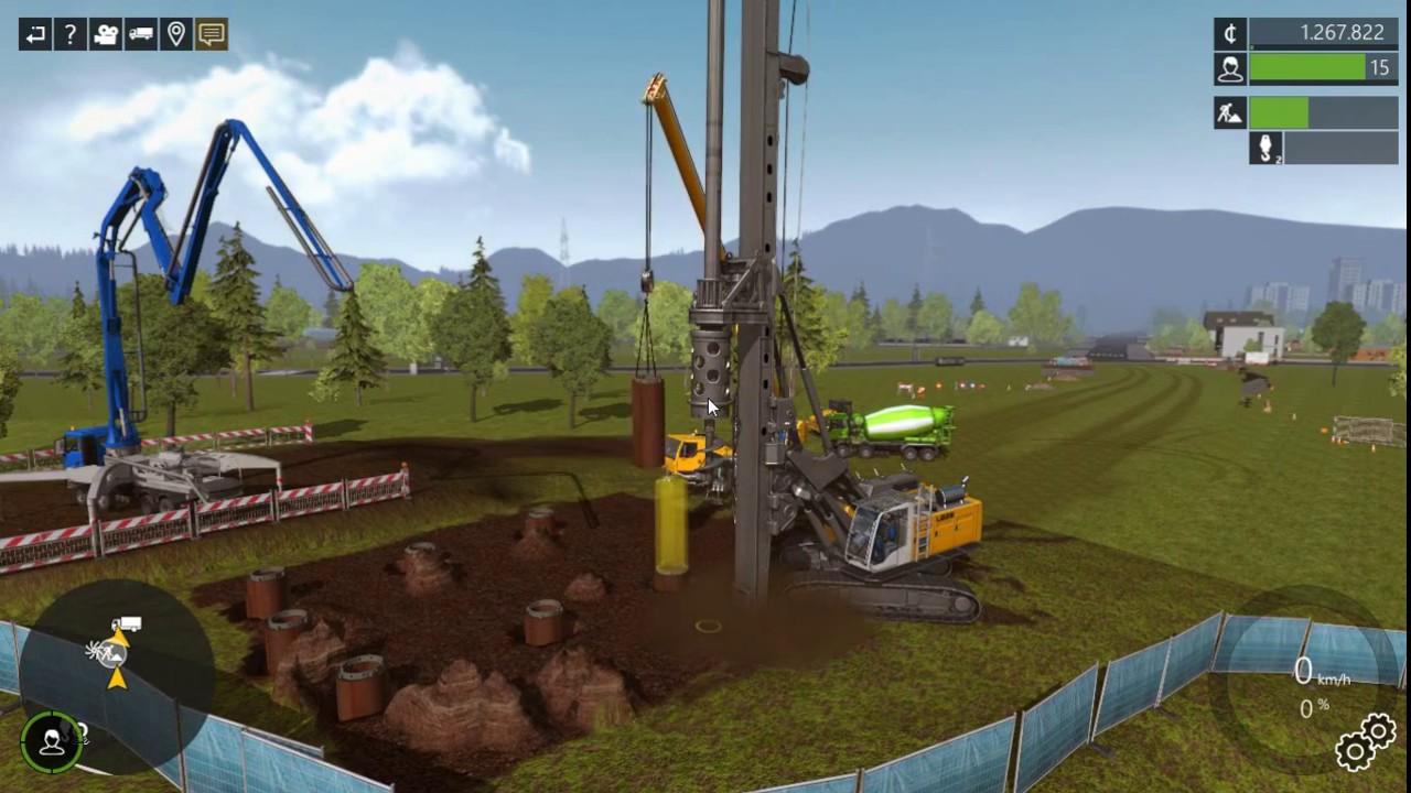 Construction Simulator 15 Multiplayer (PC) BUILD A BRIDGE #1