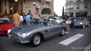 Monaco in Style: Aston Martin DB6 Volante and DB4