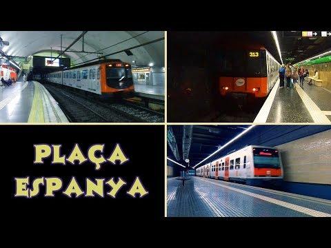 Estación de Plaça Espanya : Metro y FGC ( Barcelona )
