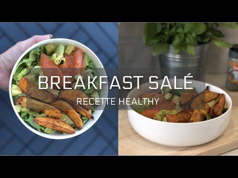 recette-healthy-santÉ---breakfast-salé,-potatoes,-saumon-et-avocat