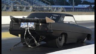 Test And Tune TOP FUEAL FUNNY CAR