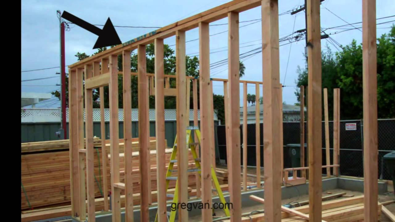 Wall Framing what are wall framing top plates? - carpentry and home framing