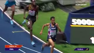 Jakob Ingebrigtsen 5000m final