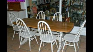 Painted Furniture - Shabby Chic - Vintage Wooden Furniture