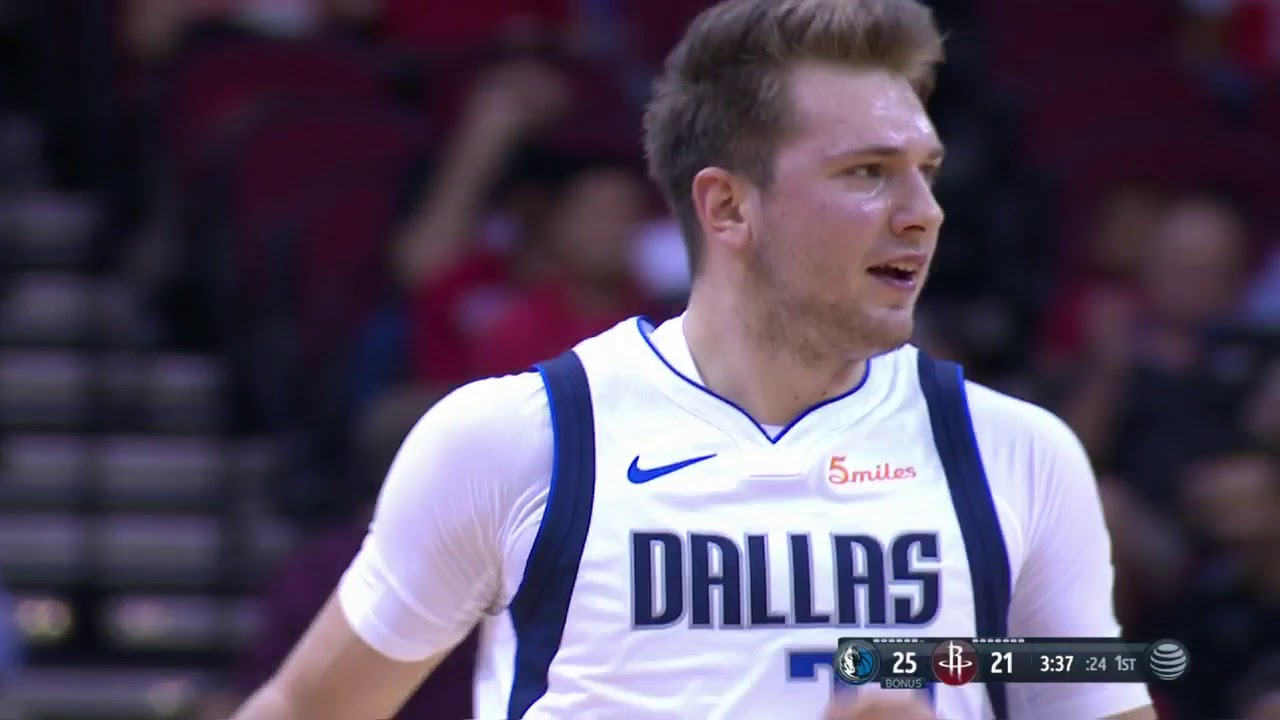 1f0f2e698 Luka Doncic Torches Rockets With Crafty Moves. Bleacher Report