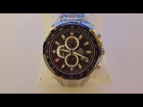 Обзор часов CASIO EDIFICE EF - 539D-1A (Review)