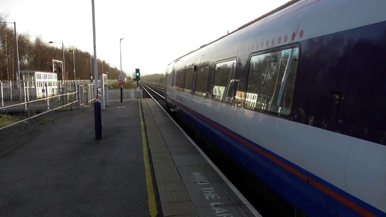 east midlands trains class 222 departing chesterfield 12. Black Bedroom Furniture Sets. Home Design Ideas