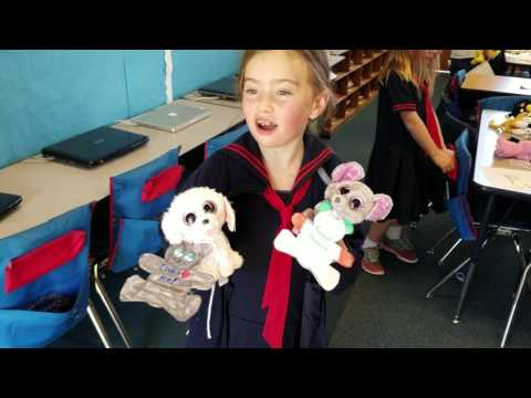Santa Catalina School collects stuff animals for SCESD Family Resource families
