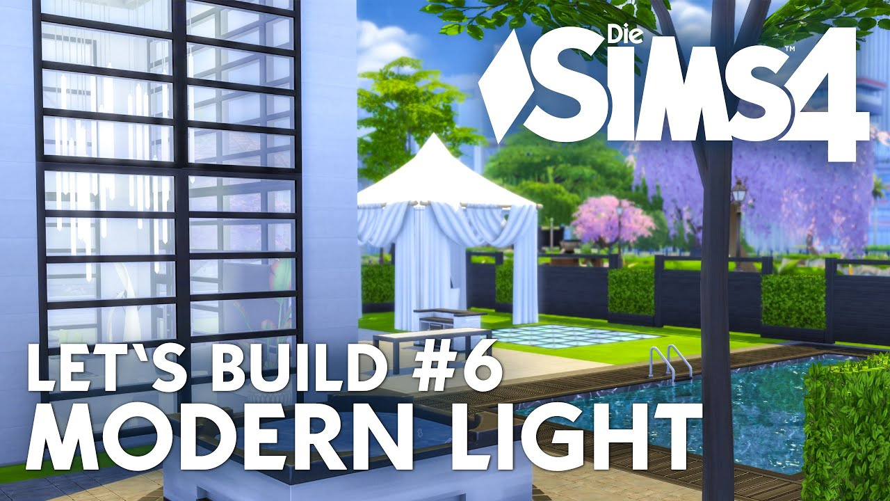 Die Sims 4 Letu0027s Build Modern Light #6 | Haus Bauen   Kinderzimmer  (deutsch)   YouTube