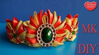 Nova Coroa Kanzashi por Alina Boloban