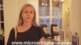 MicroArt Semi Permanent Makeup Eyeliner - Tattoo Eyeliner alternative Thumbnail