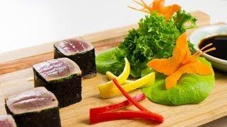 Coriander Seared Tuna Cubes Recipe