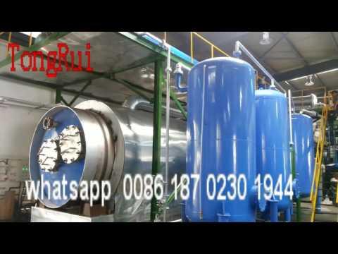 used oil to diesel distillation machine