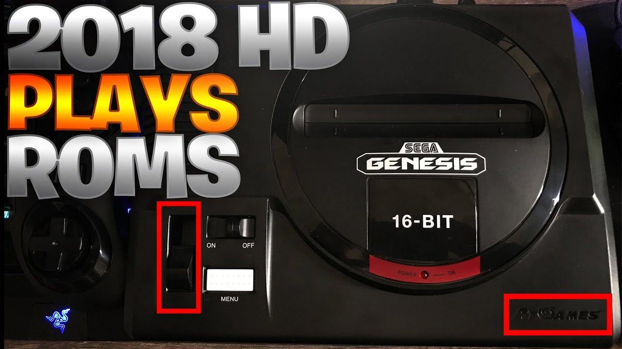 Sega Genesis Flashback HD 2018 Gameplay w/SD ROMS!!