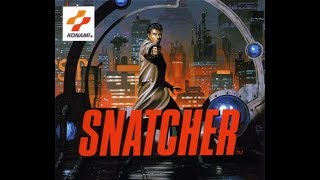 Hideo Kojima Snatcher Sega CD Nintendo Complete interactive movie Story