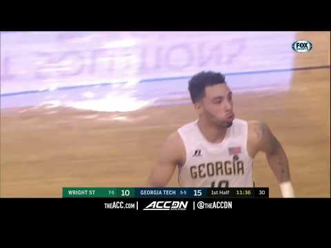 Wright State vs Georgia Tech College Basketball Condensed Game 2017