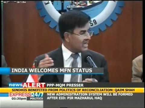 Mfn status to india