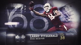 #68 Larry Fitzgerald (WR, Cardinals) | Top 100 Players of 2015