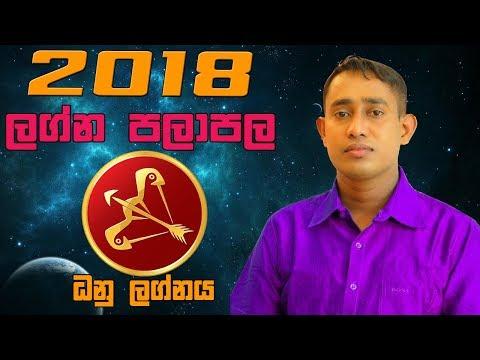 2018 ධනු ලග්න ඔබට කොහොමද?-රුක්ෂාන් ජයසේකර 2018 Dhanu Lagna Palapala Yearly Horoscope for Sagittarius