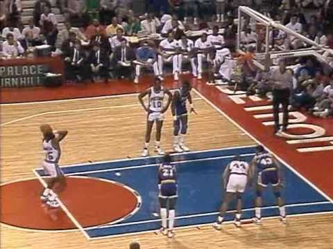 1989 NBA Finals: Lakers at Pistons, Gm 1 part 4/12