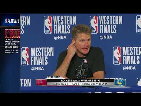 Coach Steve Kerr | Western Conference Finals Game 4 Press Conference