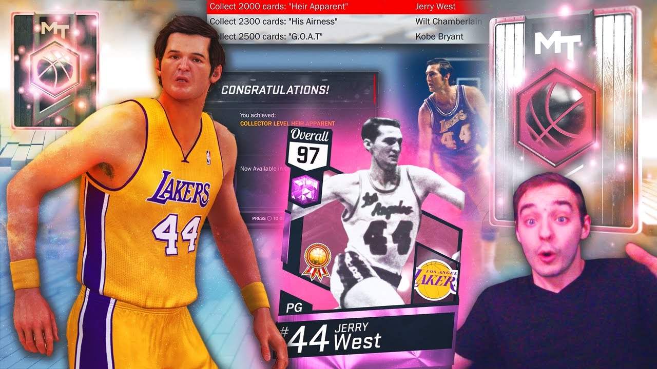 NBA 2K17 My Team PINK DIAMOND JERRY WEST WE GOT HIM THE GRIND