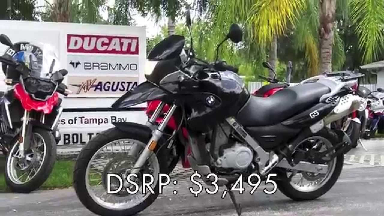 Pre Owned 2005 Bmw F650 Gs At Euro Cycles Of Tampa Bay Youtube