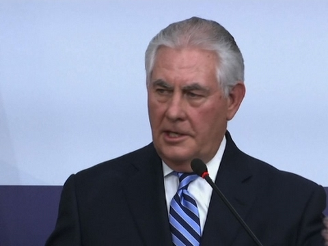 Tillerson: Patience for North Korea 'Has Ended'