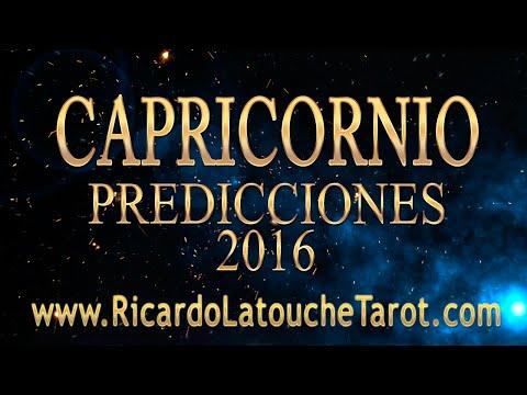 2016 Predictions CAPRICORNUS Video Horoscope | Ricardo Latouche Tarot