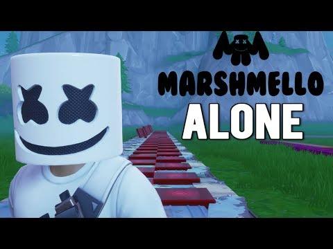 Fortnite Music Blocks: MARSHMELLO - ALONE Tutorial