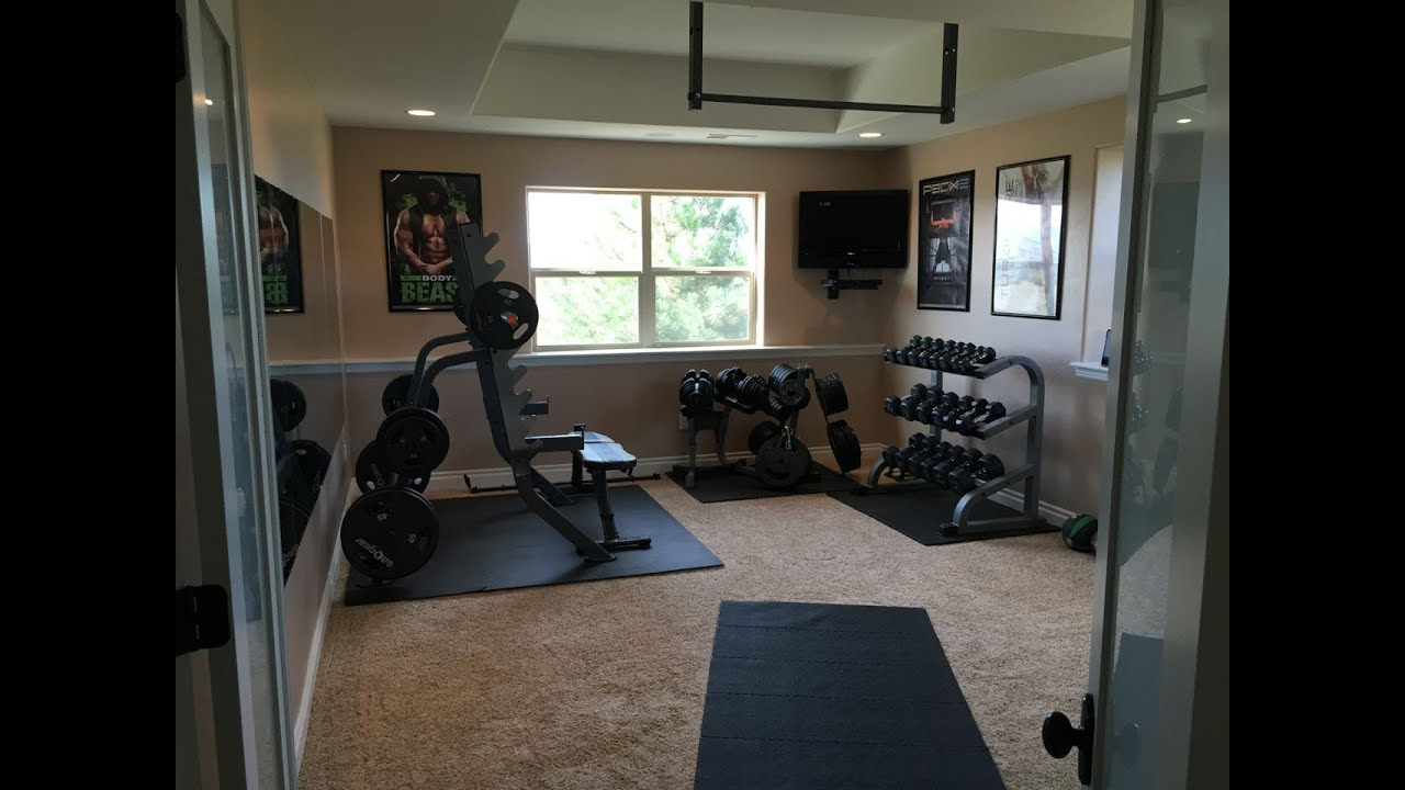 How to setup awesome home gym in bedroom youtube - Images of home gyms ...