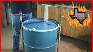 Ugly Drum Smoker Build  How To Rebuild A UDS Smoker  Texas Style Cuisine Chef Johnny