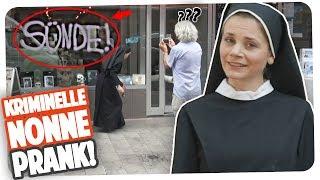 Kriminelle Nonne! Prank | Joyce