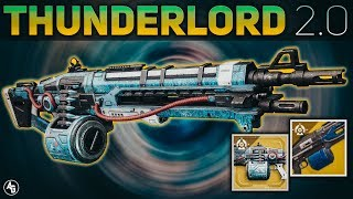 Thunderlord Exotic Review (Reign Havoc Lightning Perk) | Destiny 2 Forsaken