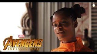 Avengers infinity War - Banner Meets Shuri - Clip