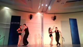 Coreografía Soberbio (Bachata) UNIVA 2014