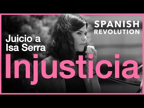 Solidaritat amb Isa Serra, injustament condemnada