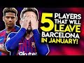 RIQUI PUIG AND TODIBO TO LEAVE IN JANUARY?! Barcelona Transfer News (2019/20)   BugaLuis