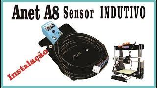 Anet A8 Auto Nivelamento - Instalação Sensor Indutivo