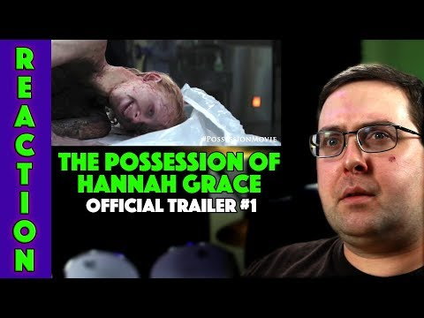 REACTION! The Possession of Hannah Grace  1  Stana Katic Movie 2018