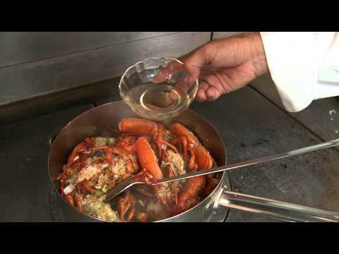 Lobster Bisque by Chef Thomas Henkelmann