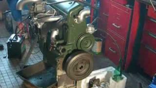 Remise en route d'un moteur 6 cylindres de Citroën 15/6 de 1953