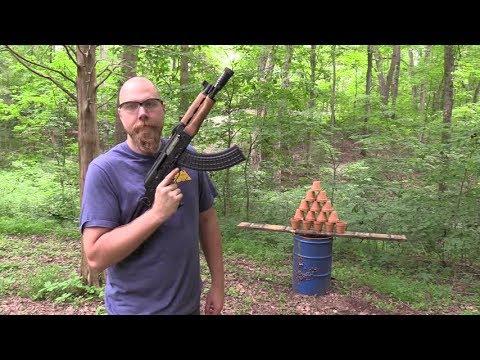 AK47 Pot Smoking!