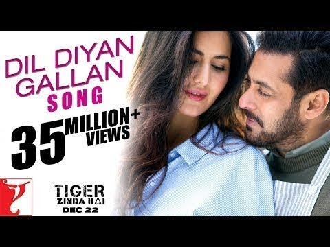 Dil diyan gallian !! new hindi song!!Tiger zinda hai new song of 2017 rrl