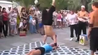 Уличное шоу Невероятные танцы