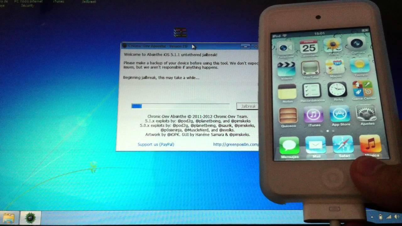 Nuevo Jailbreak Untethered IOS 5.1.1 para iPhone 3GS/4/4S ...