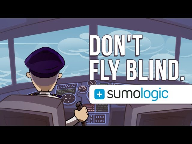 Don't Fly Blind – Sumo Logic | Animated Commercial, Explainer Video